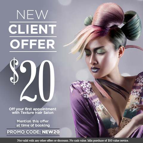 Promotions - Texture Hair Salon